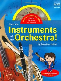 Meet the Instruments of the Orchestra: (with Audio CD) by Evelyn Glennie