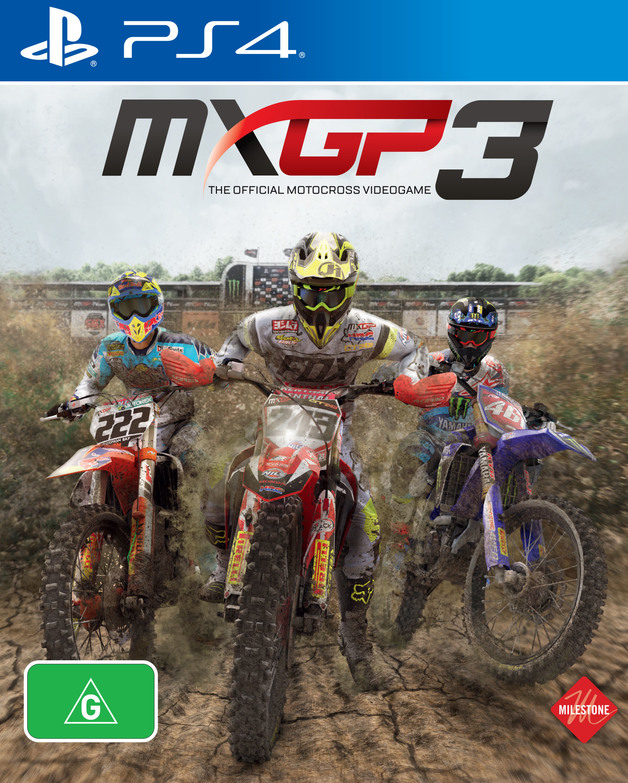 MXGP 3 - The Official Motocross Videogame for PS4