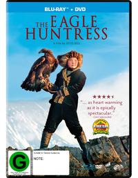 The Eagle Huntress on DVD, Blu-ray