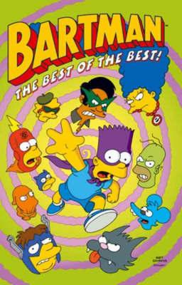 Simpsons Comics Featuring Bartman by Matt Groening