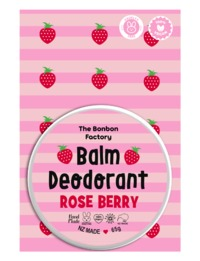 The Bonbon Factory Rose Berry Balm Deodorant