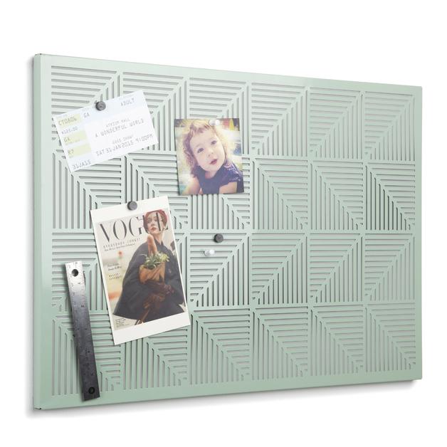Umbra Trigon Bulletin Board - Mint