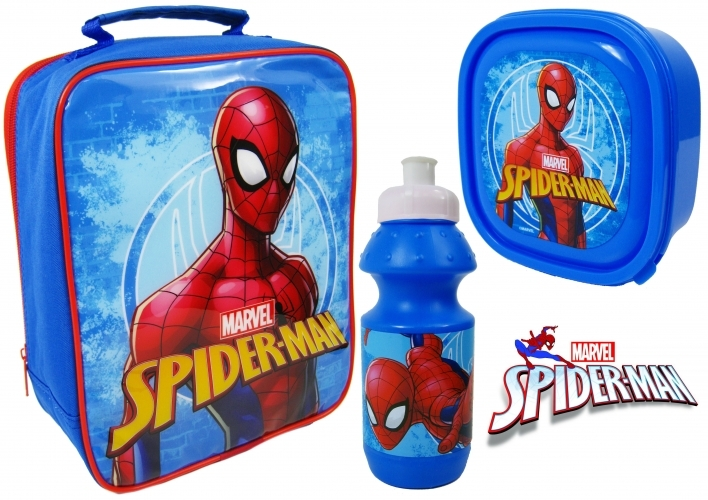 Spiderman Filled Lunch Bag image