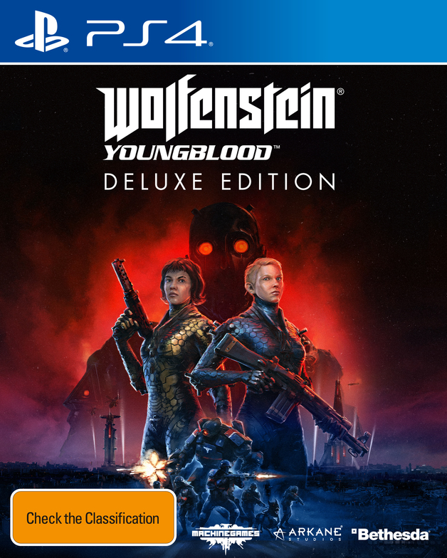 Wolfenstein Youngblood Deluxe Edition for PS4