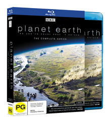 Planet Earth - The Complete Series on Blu-ray image