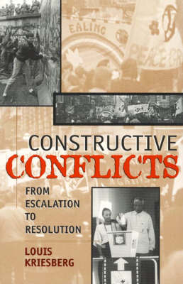 Constructive Conflicts by Louis Kriesberg image