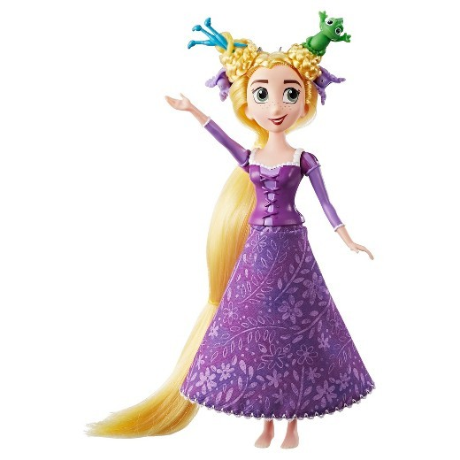 Disney Princess: Tangled - Rapunzel Spin N Style Doll