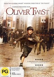 Oliver Twist on DVD image