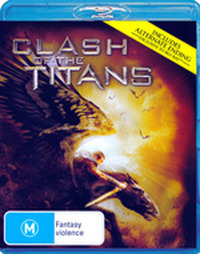 Clash of the Titans on Blu-ray