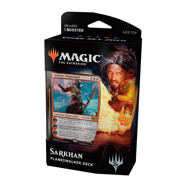 Magic The Gathering: M19 Sarkhan Planeswalker Deck