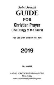Saint Joseph Guide for Christian Prayer by Catholic Book Publishing