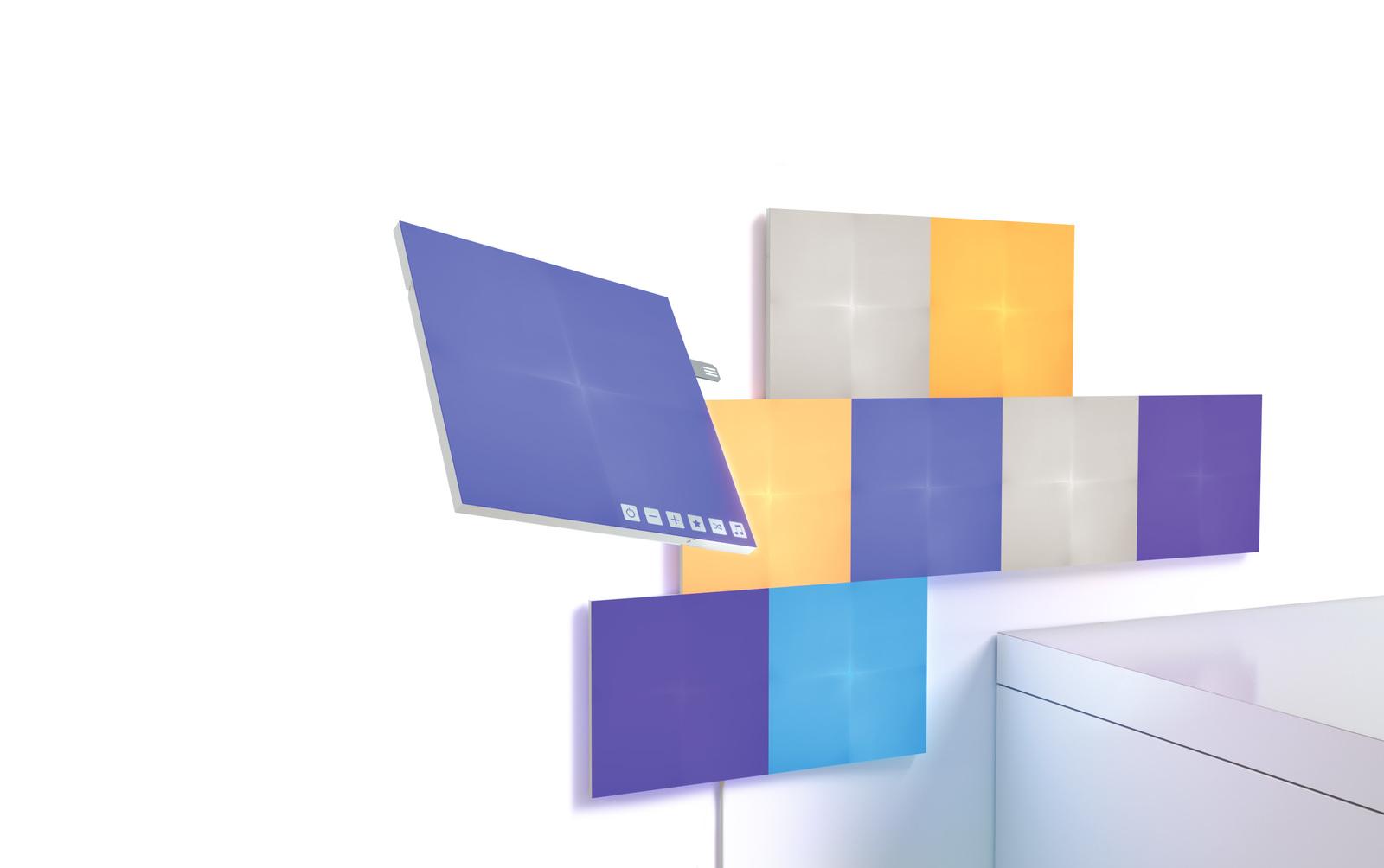 NANOLEAF Canvas Square Panels Smarter Kit (9 Pack) image