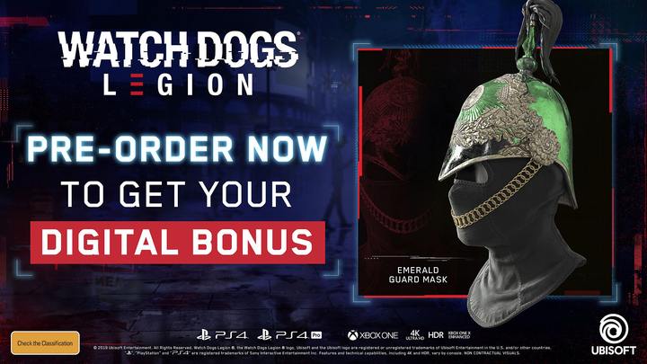 Watch Dogs Legion Gold Steelbook Edition Xbox One In Stock Buy Now At Mighty Ape Nz