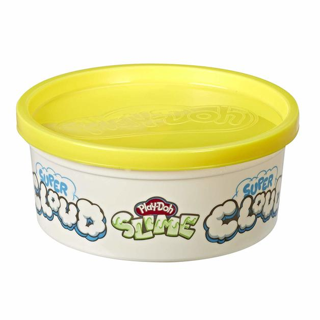 Play-Doh Super Cloud Slime - Yellow (Single Can)