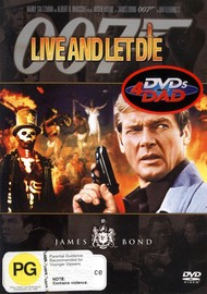 James Bond - Live and Let Die on DVD image