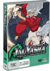 Inuyasha Movie 3 - Swords of an Honorable Ruler on DVD