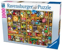 Ravensburger 1000 Piece Jigsaw Puzzle - The Kitchen Cupboard image