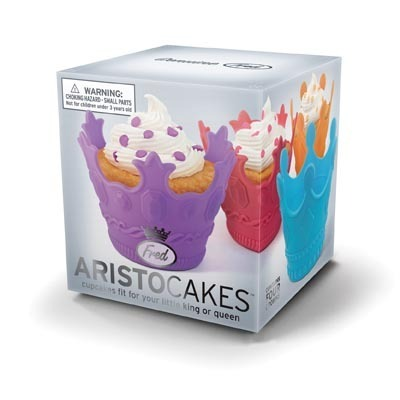 Fred - AristoCakes Crown Cupcake Moulds