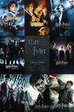 Harry Potter Films Collage Wall Poster (318)