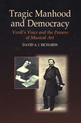 Tragic Manhood and Democracy by David A.J. Richards image