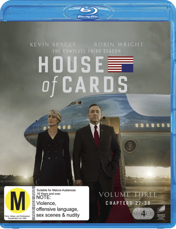 House of Cards - The Complete Third Season on Blu-ray