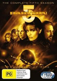 Babylon 5 - Season 5 (6 Disc Set) on DVD image