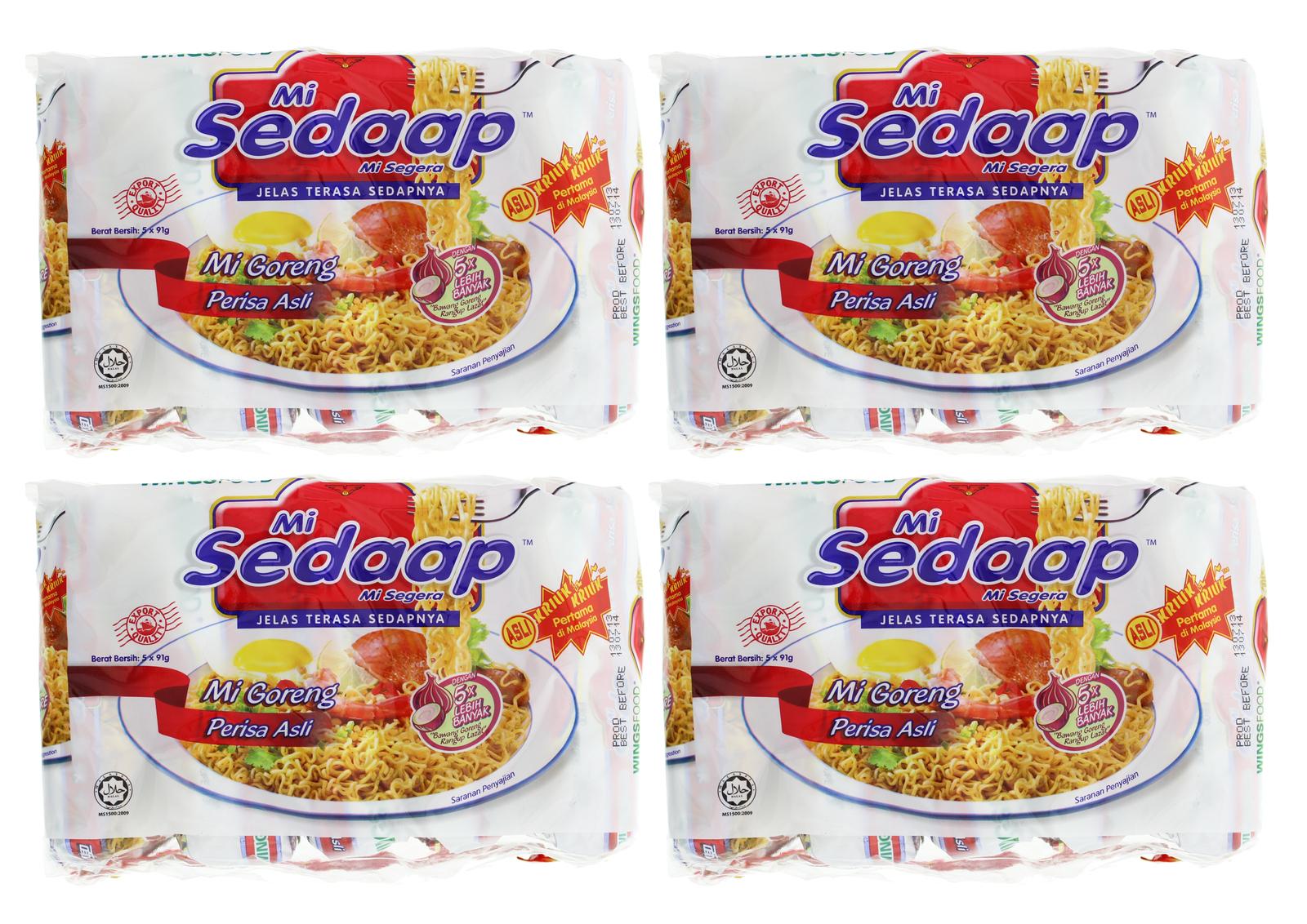 Mi Sedaap Perisa Asli Instant Noodles 88g (40 Pack) image