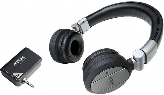 TDK WR700 2.4ghz Wireless Headphones image, Image 1 of 1