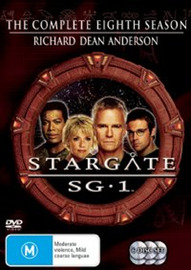 Stargate SG-1 - Season 8 (6 Disc Set) (New Packaging) on DVD image