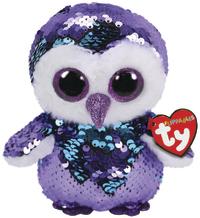 TY Beanie Boo: Flip Moonlight Owl - Small Plush