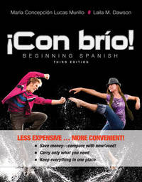 Con brio! 3e Binder Ready Version + WileyPLUS Registration Card by Maria C. Lucas Murillo image