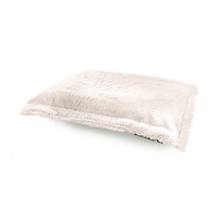 Beanz: Plush Cat or dog Bed Filled - Champagne