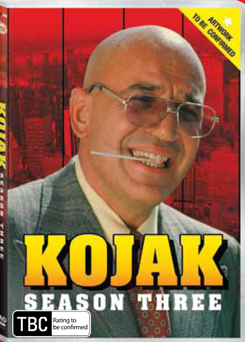 Kojak - Season 3 (6 Disc Set) on DVD image