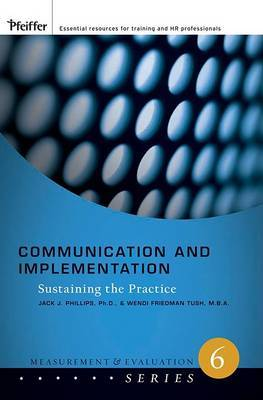 Communication and Implementation by Jack J Phillips image