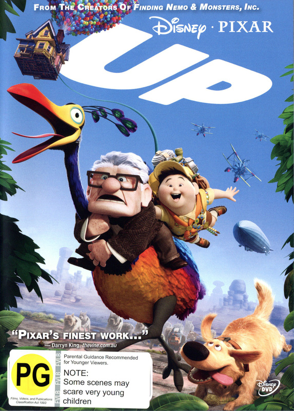 Up on DVD