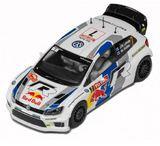 Scalextric Volkswagen Polo WRC Monte Carlo 2013 1/32 Slot Car