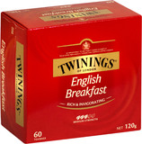 Twinings English Breakfast Tea (60 Bags)