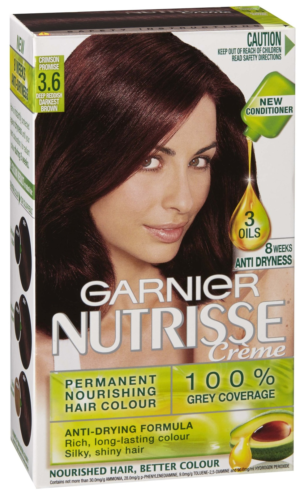 Buy garnier nutrisse hair colour 36 crimson promise at mighty ape nz garnier nutrisse permanent nourishing hair colour 36 crimson promise image nvjuhfo Gallery