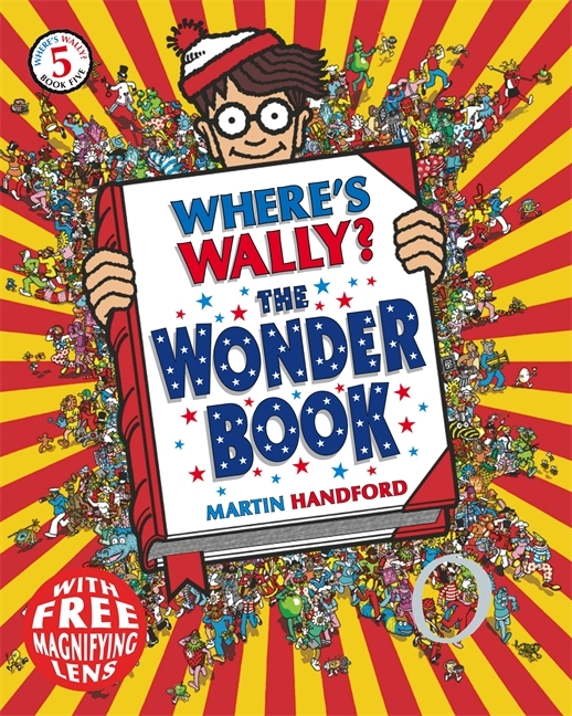 Where's Wally? The Wonder Book by Martin Handford image