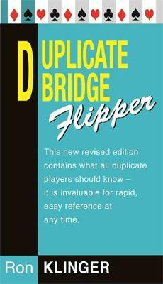 Duplicate Bridge Flipper by Ron Klinger