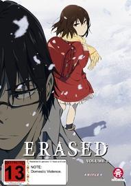 Erased: Vol. 1 - (Eps 1-6) on DVD