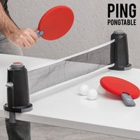 Apolyne: Portable Ping Pong Table Set