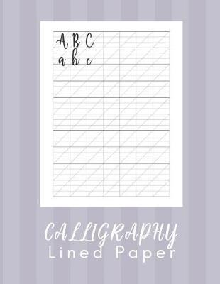 Calligraphy Lined Paper by Calligraphy Pal