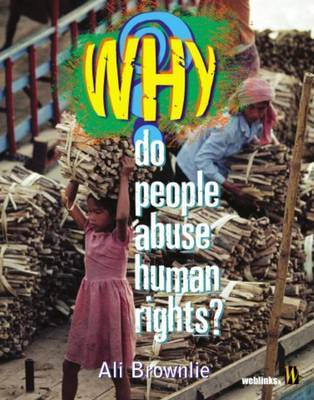 Why Do People Abuse Human Rights? by Alison Brownlie image