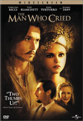 The Man Who Cried on DVD