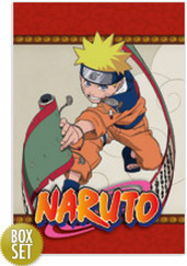 Naruto (Uncut) - Vol. 01 + Collector's Box on DVD
