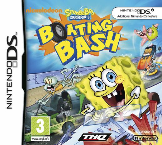 SpongeBob's Boating Bash for Nintendo DS image
