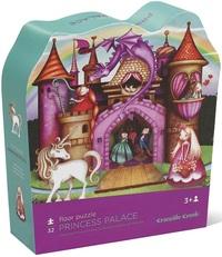 Crocodile Creek Shaped Box Puzzle - Princess Palace
