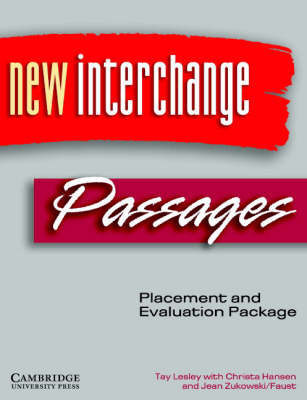 New Interchange and Passages Placement and Evaluation Package by Christa Hansen