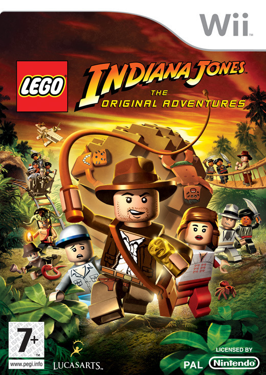 LEGO Indiana Jones: The Original Adventures for Nintendo Wii